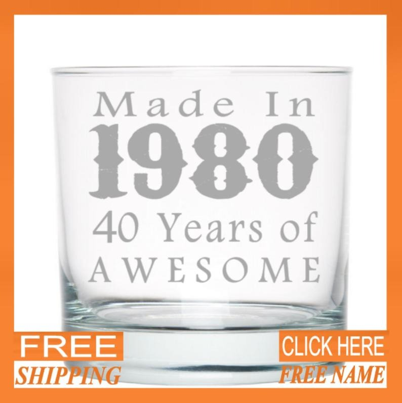 engraved whisky glass